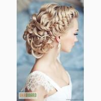 Свадебные, вечерние прически, плетение, визаж Харьков Холодная гора