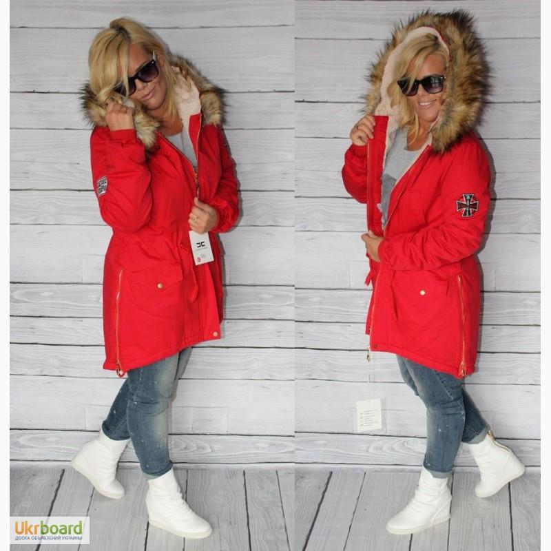 Фото к объявлению  ексклюзивная куртка-парка 1091c02a1e37e