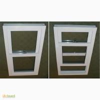 Вертикально-сдвижные окна из металлопластика