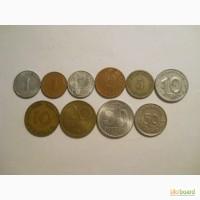 Монеты Германии (10 штук)