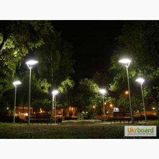 Уличное освещение загородного участка