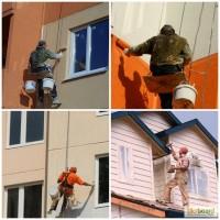 Покраска фасада домов