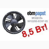 Энергосберегающие осевые вентиляторы ebmpapst W1G200-EC87-25