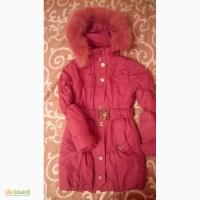 Пальто зимнее теплое на девочку