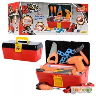 Набор инструментов 661-318 в чемодане, дрель, плоскогуб, на бат-ке, в кор-ке