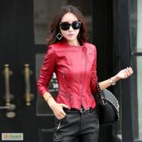 Жіноча шкіряна куртка, індивідуальне пошиття