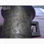 Ступка с пестиком-бронза-1895г. Оригинал