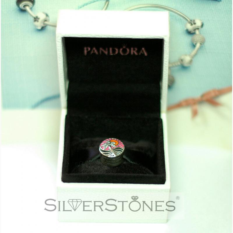 Фото 2. Оригинал Pandora Пандора шарм бусина Закат в раю арт. 792116ENMX