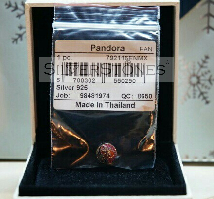 Фото 3. Оригинал Pandora Пандора шарм бусина Закат в раю арт. 792116ENMX