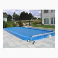 Летнее накрытие для бассейна. Солярная пленка для бассейна