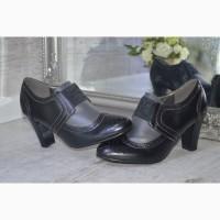 Аккуратные женские туфли-ботильоны