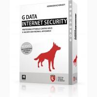 G Data InternetSecurity 1 год 10 ПК, Электронная лицензия