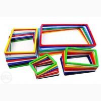 Рамки пластикові А6 - А1 різнокольорові. Цінники. Рамки информационные
