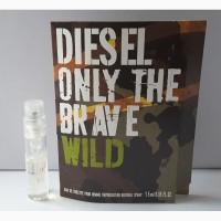 Пробник туалетной воды 1, 5 мл diesel only the brave wild diesel, италия