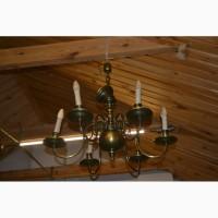 Латунный Подвесной Светильник под старину Vintage Люстра латунная Подвесная люстра