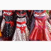 Детские нарядные платья, возраст 5 - 9 лет, опт и розница