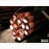 Купить трубы медные Диаметр: от 5, 6, 8, 10, 12, 14, 16, 20, 22, 24, 26,30-200 мм. М1,М2