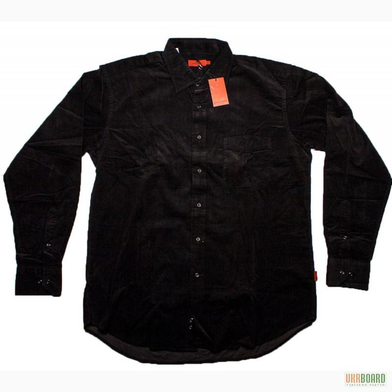 Продам купить мужская вельветовая черная рубашка Pierre Cardin 207 ... 1947b05b60118