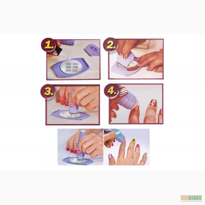 Нанесение рисунков на ногти в домашних условиях 400