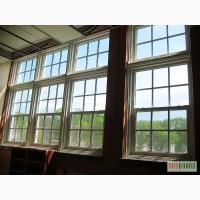 Американские подъемные окна из дерева