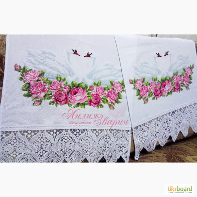 Рушник на свадьбу своими руками