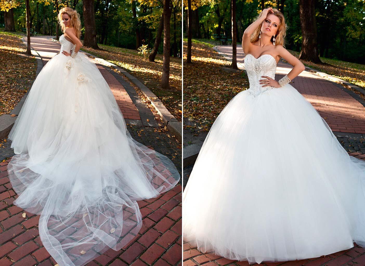 Пышные Свадебные Платья Купить