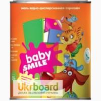 Эмаль акриловая универсальная «BABY SMILE» SF18 для детских комнат