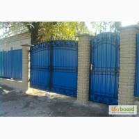 Забор, ворота под ключ