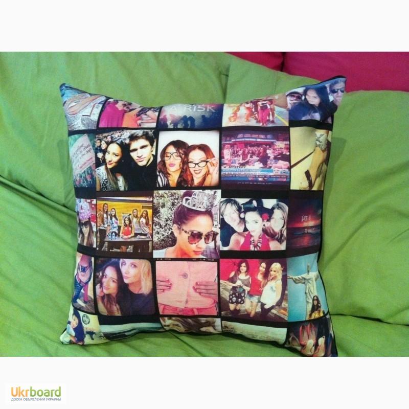 Подарить подушку с фотографиями