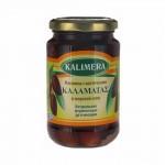 Маслины, оливки Kalimera / Калимера, сорт Каламата / Каламатас, 370мл