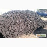 Продаж доставка по Луцьку та області паливних торфобрикетів