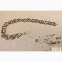 Браслет серебряный женский, вес 12 грамм, б/у