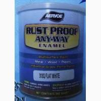 Антикоррозийная краска по металлу «RUST PROOF ANY-WAY Enamel»