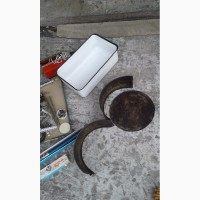 Судок металлический, эмалированный, примерно 7х15х35см