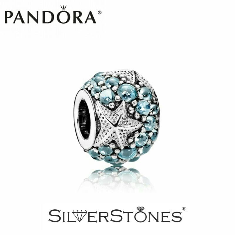Скидки! Оригинал Pandora Пандора шарм бусина Океаническая морская звезда арт. 791905CZF
