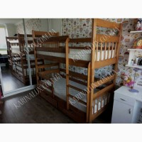 Отличная двухъярусная кровать Колобок - производителя + подарок