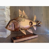 ТехноАрт - Техно рыба в стиле стимпанк