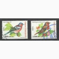 Продам марки Турции (Птицы)