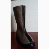 Валенки битые на резиновом ходу, теплая зимняя обувь