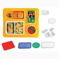 Термоподнос с замком и комплектом посуды с крышками Menu Mobile TERMOBOX