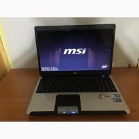 Производительный ноутбук MSI CX600 (2 ядра 3 Гига)