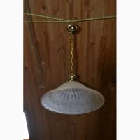 Подвесной светильник с Германии, на кухню Подвесной светильник стеклянный светильник