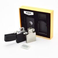Подарочный набор JOULE с плазменной спиральной USB и бензиновой зажигалкой 4-6519