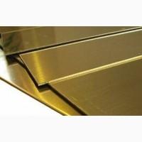 Латунный лист 2, 0х600х1500 мм марка ЛС 59