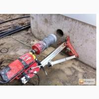 Сверление отверстий в бетоне, кирпиче