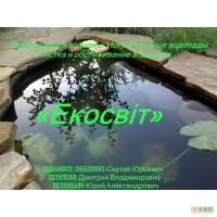 Декоративные водоемы. Искусственные водопады. Очистка и обслуживание водоемов