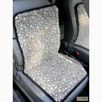 Шерстяная накидка на сидение автомобиля