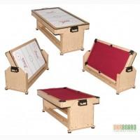Игровой стол аэрохоккей + бильярд 2в1 TWISTER