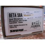 Продам микрофон SHURE BETA 58A (Оригинал-МЕКСИКА, Новый!)