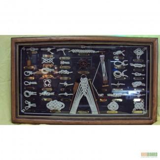 Картина в морском стиле деревянная